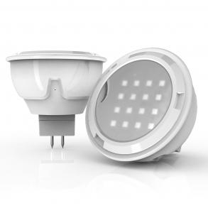 280 lumens GU10 LED spotlight large angle