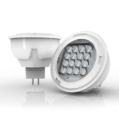 280 lumens GU5.3 LED spotlight focussed angle