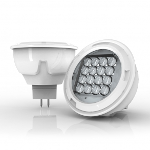 280 lumens GU5.3 LED spotlight focussed angle