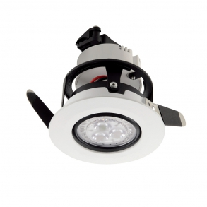 300 lumens pivotable downlight 3000 K