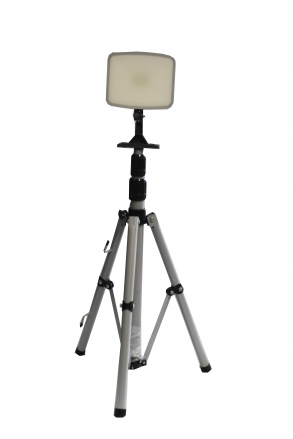 Flood light projector LED tripod