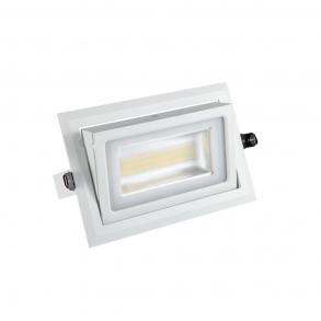 LED downlight 3000 lumens adjustable
